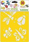 Delta Creative Stencil, 7 by 10-Inch, Flowers