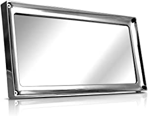 Prestige License Plate Cover and Frame - Chrome Finish