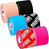 RockTape 6 Pack Sampler Active Recovery Kinesiology Tape