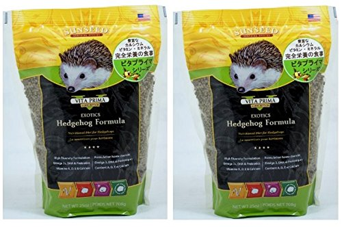 51JgWDJceDL - Sun Seed Sunscription Vita Hedgehog Adult Food (2 Pack of 25 oz.)