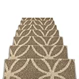 HAIPENG Non Slip Stair Carpet Treads Pads Mats Rectangular Step Rugs Staircase Ottomans, 12mm, 3 Sizes, 5 Colors (Color : E-65x24x3cm, Size : 1 pcs)