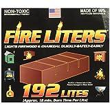 FIRE LITERS 10192 (192 Pack) 192PK Fireplace Lighter, 1, tan