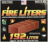 FIRE LITERS 10192 Fireplace Lighter (192 Pack)