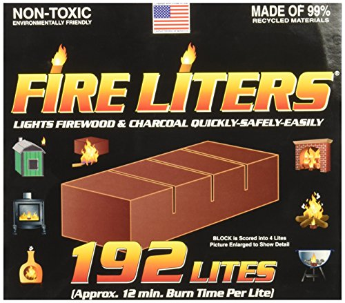 FIRE LITERS 10192 Fireplace Lighter (192 Pack) by FIRE LITERS