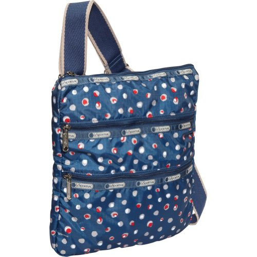 LeSportsac Madison Cross Body,Harbour Dot,One Size, Bags Central