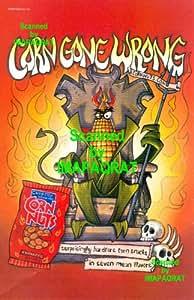 Corn Nuts: BBQ: Hardcore: Corn Gone Wrong: The Devil: Great Original Print Ad