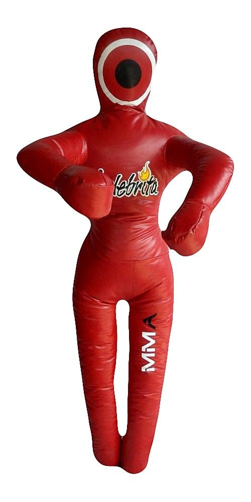 Celebrita MMAビニールPunching Bag GrapplingダミーUnfilled – Standing Vinyl-Red – 59\ hands on – chest 59\ Vinyl-Red B00W4BXP8C, 上里町:171dcac5 --- capela.dominiotemporario.com