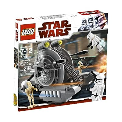 LEGO Star Wars Corporate Alliance Tank Droid (7748): Toys & Games