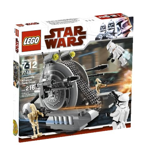 LEGO Star Wars Corporate Alliance Tank Droid (7748) (Lego Tank)