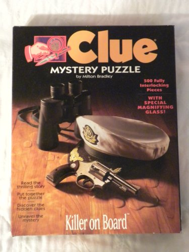 Clue Mystery Puzzle: Killer on Board ()