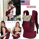 Front & Back Baby Newborn Carrier Infant Comfort Backpack Sling Wrap Cotton OY