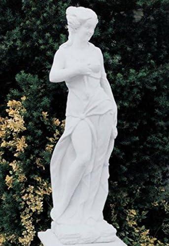 Diana Estatua para jardín fabricado en hormigón mecanismo piedra figuras de jardín-Estatua Figura decorativa escultura de jardín: Amazon.es: Hogar