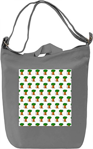 Tree With Apple Print Borsa Giornaliera Canvas Canvas Day Bag| 100% Premium Cotton Canvas| DTG Printing|