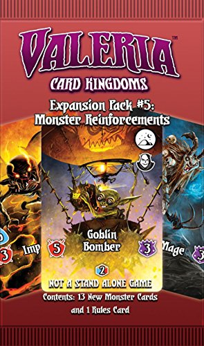 Daily Magic Games Valeria Card Kingdoms Expansion Pack #5: Monster Reinforcements 5