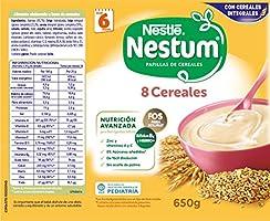 Nestlé Papillas NESTUM, Cereales para bebé, Pack de 3 x 650 ...