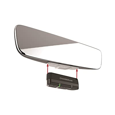 Brandmotion 1110-2520 Frameless Manual Dim Rear View Mirror with Universal Remote Control: Automotive