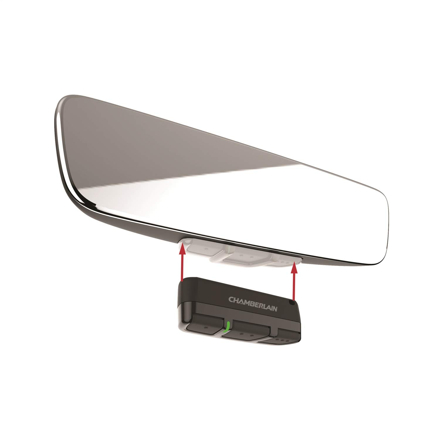 Brandmotion 1110-2520 Frameless Manual Dim Rear View Mirror with Universal Remote Control