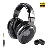 Premium Over-Ear Headphone, Spadger CD990, Hi-Res Studio Certified, Professional DJ Stereo Monitor, Super Confortable, Extra Long Cable & Adapter Plug Free