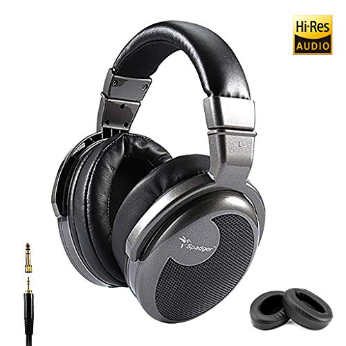 Premium Over-Ear Headphone, Spadger CD990, Hi-Res Studio Certified, Professional DJ Stereo Monitor, Super Confortable…