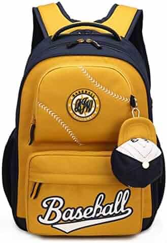 Fanci Baseball Style Waterproof Lightweight Primary Boys School Backpack  Elementary Bookbag 97a1800cefa14