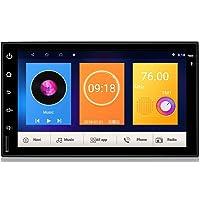 Henhaoro 7 Android Coche estéreo GPS Navegación 7.1 Pantalla táctil Radio Receptor No DVD 2 DIN Resolución 1024x600 Pantalla Coche