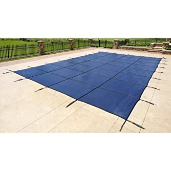 Blue Wave Rectangular Inground Safety Winter Pool Cover