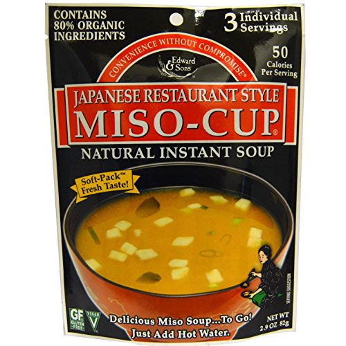 Edward & Sons, Miso-Cup, Japanese Restaurant Style, 2.9 oz (82 g)