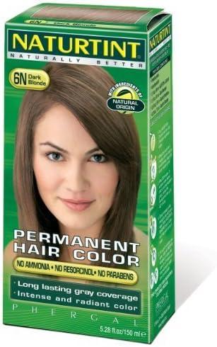 Naturtint Permanent Hair Color - 6N Dark Blonde, 5.28 fl oz ...