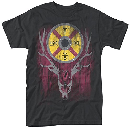 vikings-t-shirt-stag-tv-show-new-official-mens-black