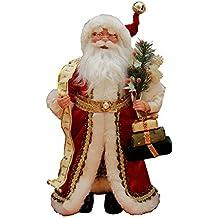 "16"" Inch Standing Naughty or Nice Name List Santa Claus Christmas Figurine Figure Decoration 41603"