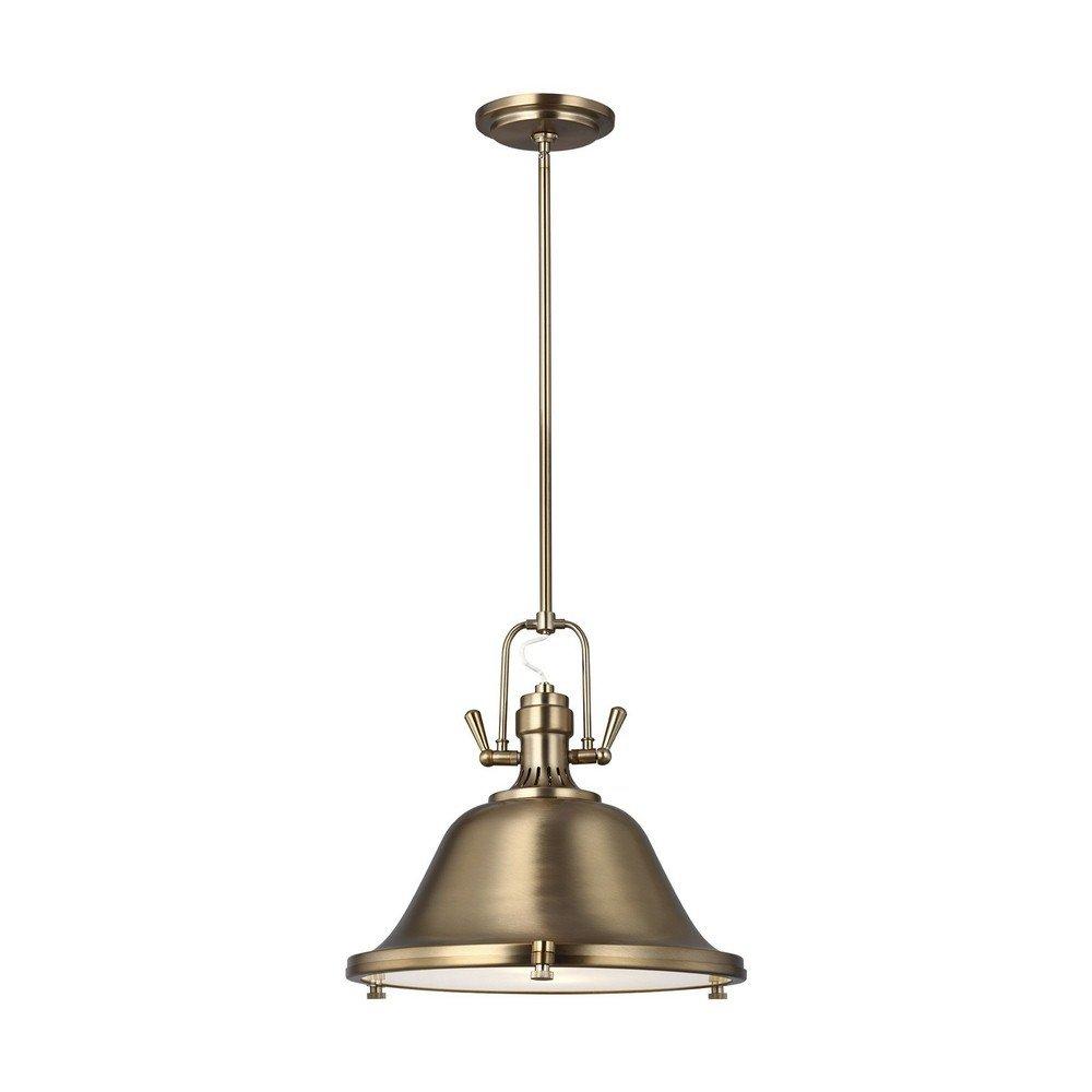 Sea Gull Lighting 6514402-848 Two Light Pendant Satin Bronze