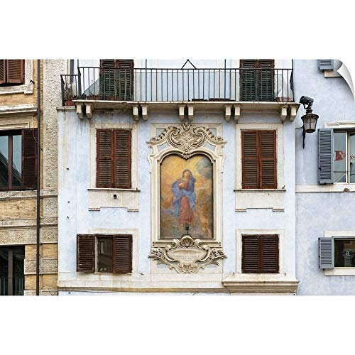 CANVAS ON DEMAND Dolce Vita Rome Collection - Architecture Rome II Wall Peel Art Print, 30