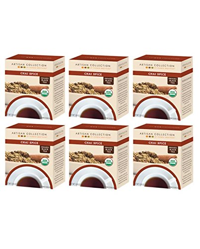 Artisan Collection by Farmer Brothers (Organic Chai Spice Black Tea), 6/15 ct boxes