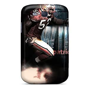 AaronBlanchette Samsung Galaxy S3 Best Hard Phone Cases Customized Colorful San Francisco 49ers Series [lJz18806sGiW]