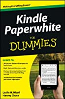 Kindle Paperwhite For Dummies Front Cover