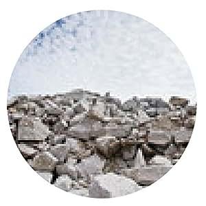 alfombrilla de ratón escombros de piedra bajo el cielo azul - ronda - 20cm