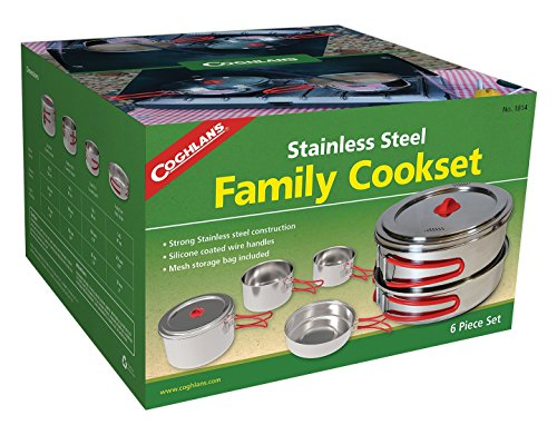 Coghlan's Stainless Steel Cook Set, Silver, Multiple by Coghlan's
