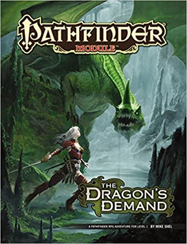 Pathfinder Module: The Dragons Demand: Amazon.es: Mike Shel ...
