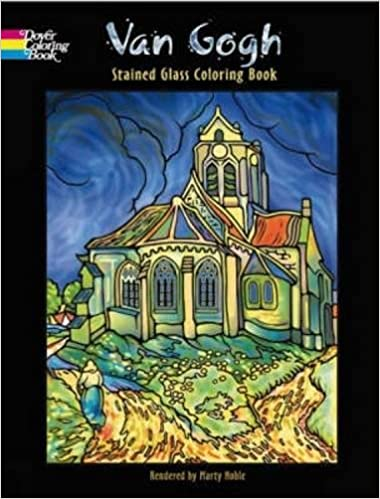 van gogh stained glass coloring book van gogh stained glass coloring book by van gogh vincent author jun 26 2007 paperback