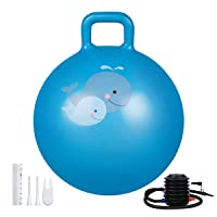 Deals on Trideer Hopper Ball Kids Exercise Ball Multi