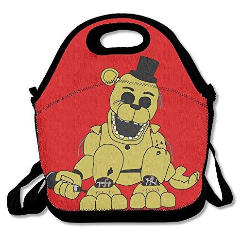 Superww Five Nights At Freddy Lunch Bag Tote Handbag