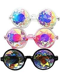 Festivals Kaleidoscope Glasses Rainbow Sunglasses Advantages