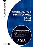 capa de Códigos 4 em 1 Saraiva. Administrativo e Constitucional