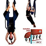 Dark Blue Yoga Inversion Swing + Yoga Swing DVD by Chris Acosta Review