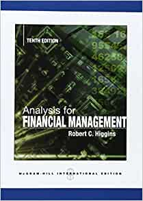 analysis for financial management 10th edition pdf