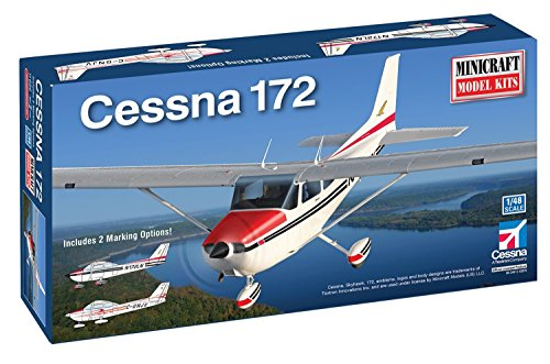 Minicraft Cessna 172 Tri-Gear Model - Minicraft Kit