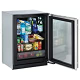 U Line Modular 3000 Series 3024RGLS00 24 Compact Refrigerator 4.9 cu. ft. Capacity, Right Hinge