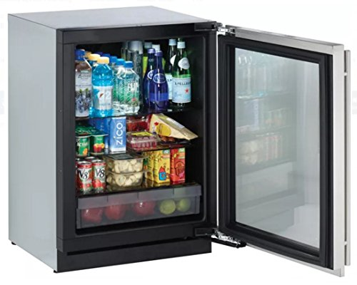 U Line Modular 3000 Series 3024RGLS00 24 Compact Refrigerator 4.9 cu. ft. Capacity, Right Hinge