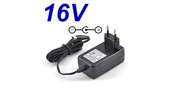Cargador Corriente 16V Reemplazo Tocadiscos Plato THORENS Type TD ...