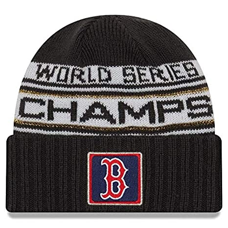 super popular 0dbd2 bb682 New Era Boston Red Sox 2018 World Series Champions Men's Locker Room Knit  Hat